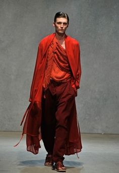 DAMIR DOMA Mens Spring Summer 2010 spring summerdress damirdoma ss sunny men dress summer designer