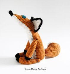 The Little Prince Fox amigurumi crochet pattern by HappyCoridon