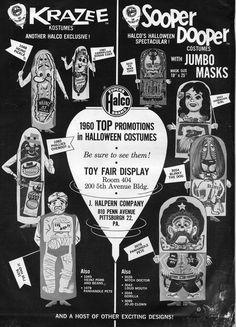 1960 Halco Halloween Costume ad | Flickr - Photo Sharing!