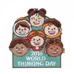 World Thinking Day 2016 Patch! From Patchfun.com! Priced at $.69 each!