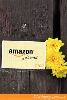 Who wouldn't want to win an Amazon gift card? Yeah I don't see any hands raised. Come enter to win!