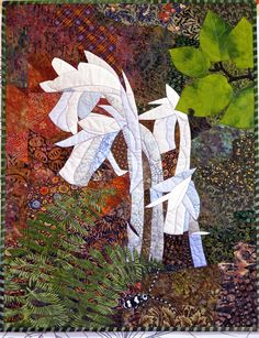 Indian Pipes by Bonnie Keller