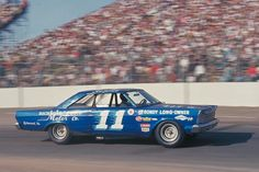 1965 Ford Galaxie driven by 1965 NASCAR champion Ned Jarrett.
