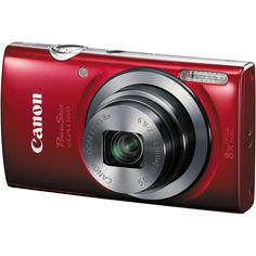 PowerShot ELPH 160 20MP Red - Canon Cameras - 0143C001