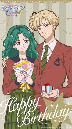Sailor Moon Crystal Season 3 Haruka and Michiru (Uranus & Neptune) by xuweisen