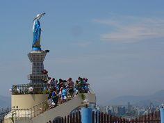 Virgin Mary, Morro Solar, Chorrillos, Peru
