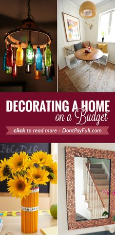 Decorating a Home on a Budget #DontPayFull