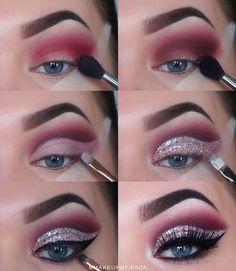 Follow  @makeupby.esca  for more. ______________________________________________________ Products: Brows: @anastasiabeverlyhills #dipbrow  Eyes: @anastasiabeverlyhills #modernrenaissance @morphebrushes #morphe35b  @essence_cosmetics  #glitter #eyeliner  @maybelline #concealer #mascara  @eylureofficial @eylurefinland #gimmegimme #eyelashes  @zoevacosmetics #makeupbrushes  Face: @vichynordic #foundation  @jeffreestarcosmetics #highlights…