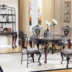 Kitchen Dinette Sets With Swivel Chairs