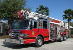Osceola County, FL Fire and Rescue Ladder 73