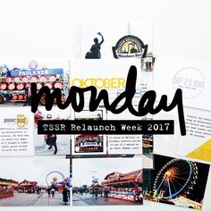 "Ahhhh. I was too excited and had to post the first of my epic week of blog posts early. Check out ""Monday""s spread on the blog."