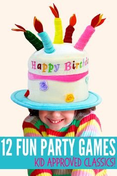 12 fun party games for kids that have survived the test of time! These classic party games are budget friendly, super simple to play and a surefire hit with kids of all ages. Indoor Party Games, Fun Party Games, Party Ideas, Sports Party Favors, Party Quotes, Volleyball Gifts, Surefire, Kids Events, Super Simple