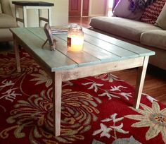 Cottage Style Coffee Table by DeepSouthCC on Etsy, $195.00