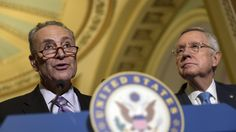 """I was hoping 2017 would ring in a new era of """"What's good for the country."""" It must have been the champagne...Top Senate Democrat: We will work to undermine, slow down Trump Cabinet confirmation hearings"""