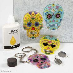 DIY : Créer un porte-clé Calavera