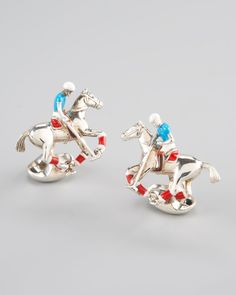 ~Deakin & Francis of England's Sterling Silver Cufflinks | The House of Beccaria#