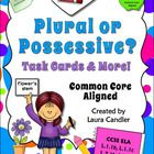 Plural or Possessive? Task Cards and More! includes task cards and lesson suggestions for introducing the concept of possessive nouns. The activiti...