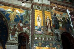 Athos Monastery  Greek fresco