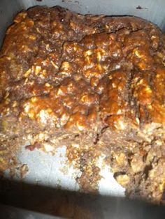 No sugar, no flour, Cinnamon Chocolate protein loaf- Fit and Feisty