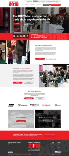 The only blind & shutter trade show anywhere in the UK needed a new look ready to entice visitors and exhibitors ready for the 2018 show. Here at Logic Design we were more than happy to help the show move forward into 2018 with a more modern look. To learn more about our services please click the image above.