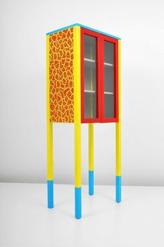 Image result for memphis design movement storage unit