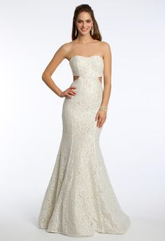Strapless Lace Merma