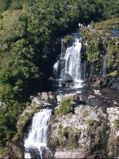 Trilha próxima a Cachoeira do Tigre Preto no Parque da Serra Geral