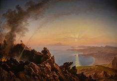 https://flic.kr/p/T3aYHb   Franz Ludwig Catel - The Crater of Vesuvius with View of the Bay of Naples, 1841 at Princeton Art Museum Princeton NJ   Franz Ludwig Catel - The Crater of Vesuvius with View of the Bay of Naples, 1841 at Princeton Art Museum Princeton NJ