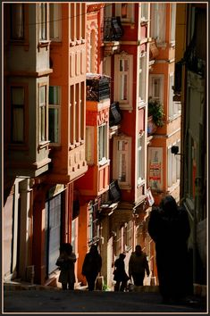 down the hill - Beyoglu, Istanbul Monuments, Turkish Architecture, Places To Travel, Places To Visit, Dream City, Turkey Travel, Famous Places, Istanbul Turkey, Love Pictures