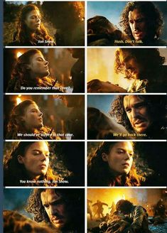 Poor Ygritte and Jon