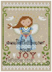 The Floss Box | Christmas Angel of Joy