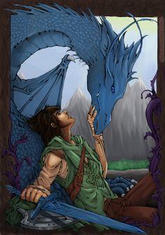 Eragon and Saphira :)
