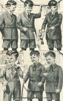 1922 Boys Clothing
