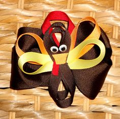 thanksgiving boutique bow