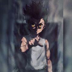 Manga Anime, Anime Naruto, Anime Guys, Hunter X Hunter, Hunter Anime, Anime Wallpaper Live, Naruto Wallpaper, Joker Card Tattoo, Leorio Hxh