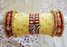 Dhalu Chura.... Silk Thread Bangles Design, Gold Bangles Design, Thread Jewellery, Bridal Chura, Wedding Chura, Royal Jewelry, Dainty Jewelry, Ethnic Jewelry, Silver Jewelry