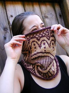 Henna Cowl by Jen Gall - $5.00