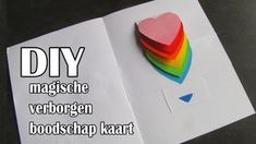 DIY Moederdag Kaart Met Magische Verborgen Boodschap Unicorn Phone Case, Puffy Paint, Shopkins, Diy Painting, Rainbow Colors, Diy And Crafts, Make It Yourself, Fun, Creative Things