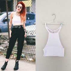 Lila Cut Out Top