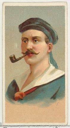 Issued by Allen & Ginter | Sailor, printer's sample from World's Smokers series (N33) for Allen & Ginter Cigarettes | The Met