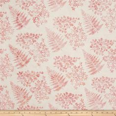 Bali Handpaints Batiks Mixed Leaves Creamsicle from @fabricdotcom  Designed for Hoffman International Fabrics, this Indonesian batik is perfect for quilting, craft projects, apparel and home décor accents. Colors include shades of pink.