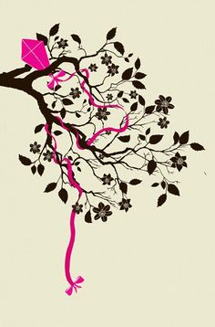 Tattoo idea different tree but I like the kite idea