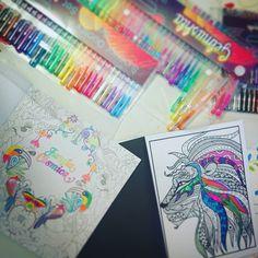 #coloreando lucura #mandalica #relax #sabadocasero y # lluvioso
