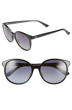Gucci 55mm Retro Sunglasses available at #Nordstrom