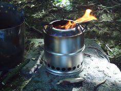 Wild Stove's Wood gas stove MK II