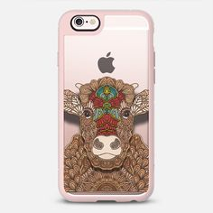 Frida - the cow is a #sweet loving #cow, who would like to make your #phonecase the prettiest it could be ;) available for your #iphone @casetify