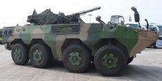 ZBD09 8 x 8 Wheeled Infantry Fighting Vehicle