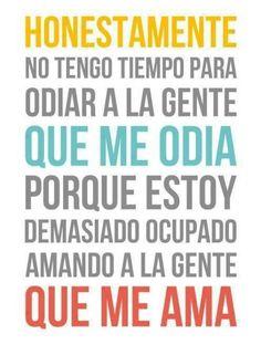 #gente #odia #amar
