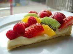 Alimentazione & Cucina Naturale: Torta alla frutta con crema leggera