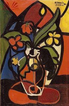 Vase of flowers, 1949 / Aldemir Martins